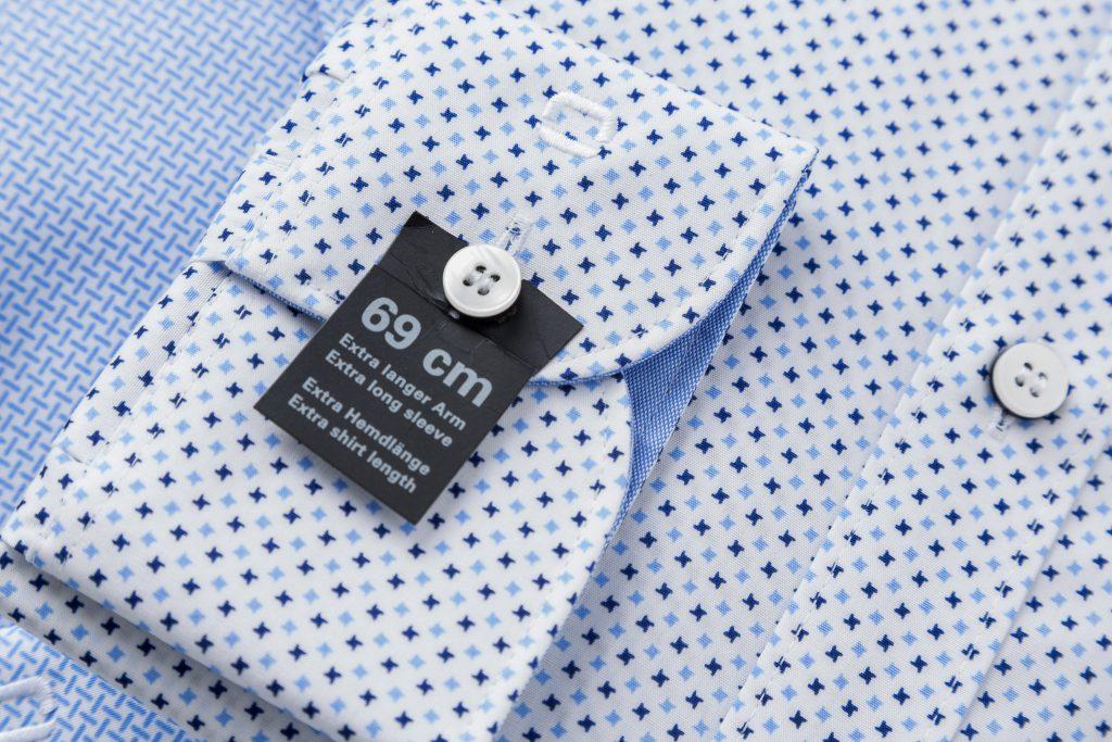 Overhemden voor lange mannen
